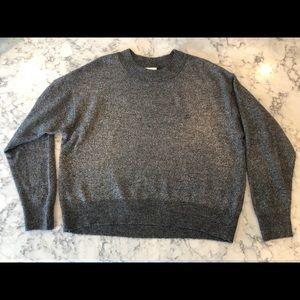 H&M Oversize Metallic Sweater